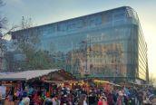 V. Vörösmarty téri új üvegpalotában 300m2-es penthouse luxuslakás eladó.